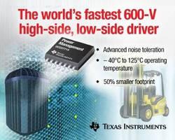 Half-Bridge Gate Driver creates high power density solution.