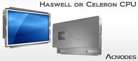 Open Frame Panel PC utilizes Haswell or Celeron CPU.