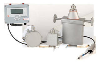 Coriolis Mass Flow Meter also acts as process controller.