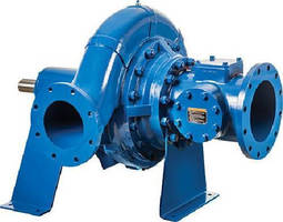 Horizontal End Suction Centrifugal Pumps come in 3-16 in. sizes.