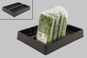Organize Packaged Herbs on Cooler Shelves with New Vacuum-Formed Tray