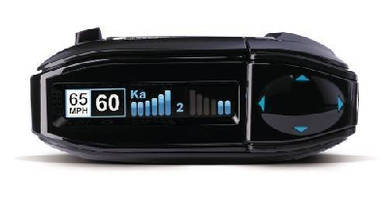 Radar and Laser Detector features dual antenna technology.