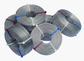 Stainless Steel Lashing Cable eliminates kinks, tangles, snags.
