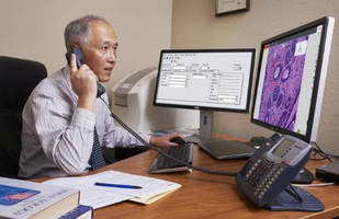 Digital Pathology System enables real-time review for research.
