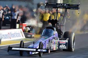 Vault Tooling Sponsors Jimi Hendrix Foundation Top Fuel Dragster during the 2015 NHRA Mello Yello Drag Racing Series Season