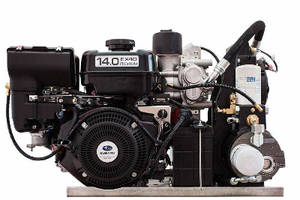 Gas Driven Air Compressor is rated for 100% duty cycle.