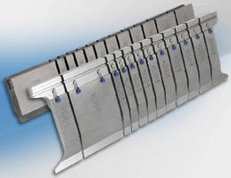 Press Brake Tooling features laser hardened design.