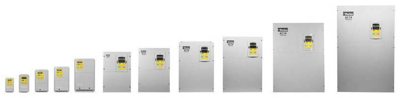 Parker Hannifin Extends Range of AC10 VFD to 250 HP