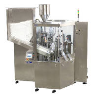 Tube Filling and Sealing Machine handles 100 tubes/minute.