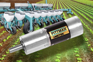 DC Brush and Brushless Motors, Encoders aid agriculture industry.