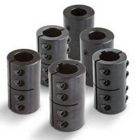 Rigid Couplings are specified for shaft joining, alignment.