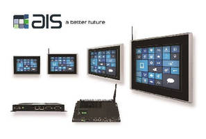 HMI Touch Panel PCs include battery backup module.