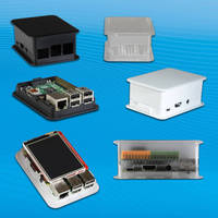 Raspberry Pi Enclosures are sized to offer additional room.