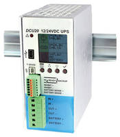 DC Power Monitoring UPS supports programming via USB connection.