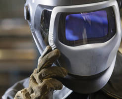 Auto-Darkening Filter promotes visibility for welders.