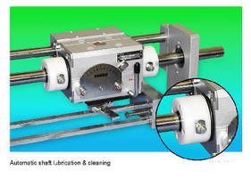 Linear Drives offer automatic shaft cleaning and lubricating.