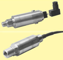 Intrinsically Safe Pressure Transmitters suit hazardous locations.