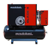 Air Compressor produces clean dry supply.