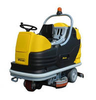 Ride-On Floor Scrubbers clean up to 75,347 ft²/hr.