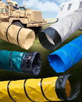 Ventilation Blower Hose is offered with custom color matching.