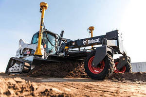 Bobcat Company Introduces First 3D Grade Control System for Compact Loaders