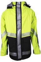 Flame Resistant Rainwear keeps workers dry and productive.