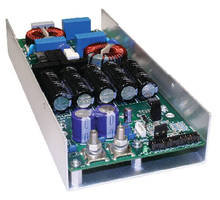 Power Supplies operate without forced air cooling.