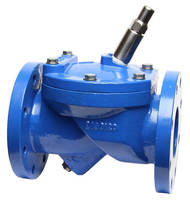 Swing Check Valve incorporates Adjustable Spring Closure.