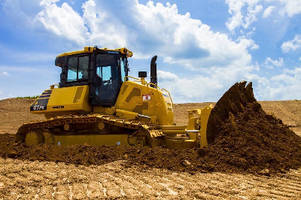 Crawler Dozer provides high-speed grading.