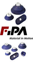 Oval NBR Suction Cups suit sheet metal handling applications.