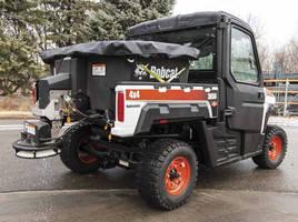 Spreader Attachment enhances Bobcat utility vehicle versatility.