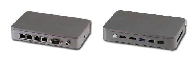 Embedded Box PC operates from -20 to 60