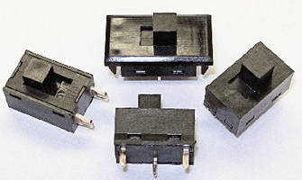 Micro Miniature Slide Switches withstand hostile environments.