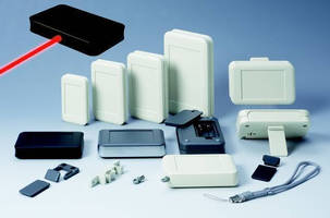 Wide Format Handheld Enclosures come in ABS and IR-permeable PMMA.