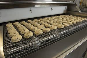 Cryogenic Freezing Speeds Production of Cookies