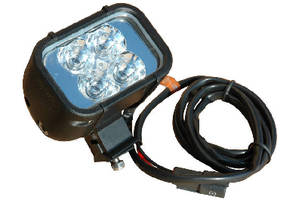 Colored LED Light Emitter is IP68-rated and waterproof to 3 m.