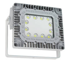 Explosionproof LED Flood Light supports 125-250 Vdc operation.