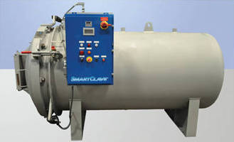 Autoclaves integrate PLC and touchscreen display.