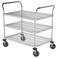 Wire Carts serve stocking and picking applications.