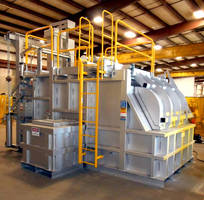 Aluminum Melting and Holding Furnace has 13,700 lb max capacity.