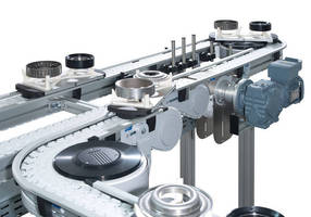 Low-Noise Modular Chain Conveyor allows quick planning, assembly.