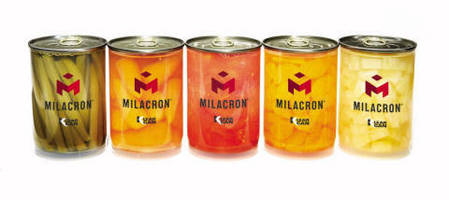 Milacron's Innovative Klear Can(TM) Continues to Push Toward Production as it Passes Critical Food Safety Tests