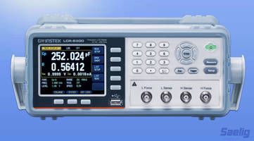 LCR Meters offer multiple measurement, auto-binning functions.