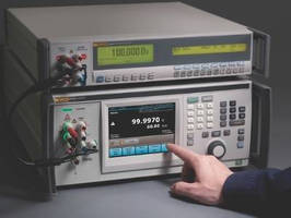 Multifunction Calibrator offers 50 MHz wideband option.