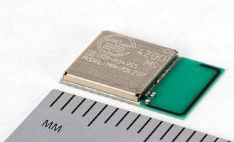 Miniature Bluetooth Smart Module targets IoT solutions.