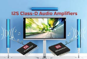 Class-D Audio Amplifiers feature I2S serial bus interface.
