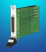 PXI Solid State Multiplexer supports hot/cold signal switching.