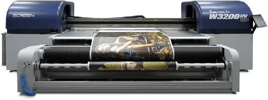 Wide Format UV Inkjet Printer handles loads up to 165 lb.
