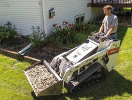 Mini Track Loader improves productivity with capacity and reach.