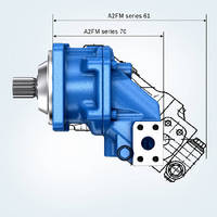 Hydraulic Motors cover pressure range up to 500 bar.